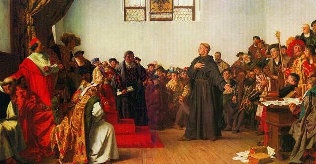 Luther at the Diet of Worms, Anton von Werner, 1877