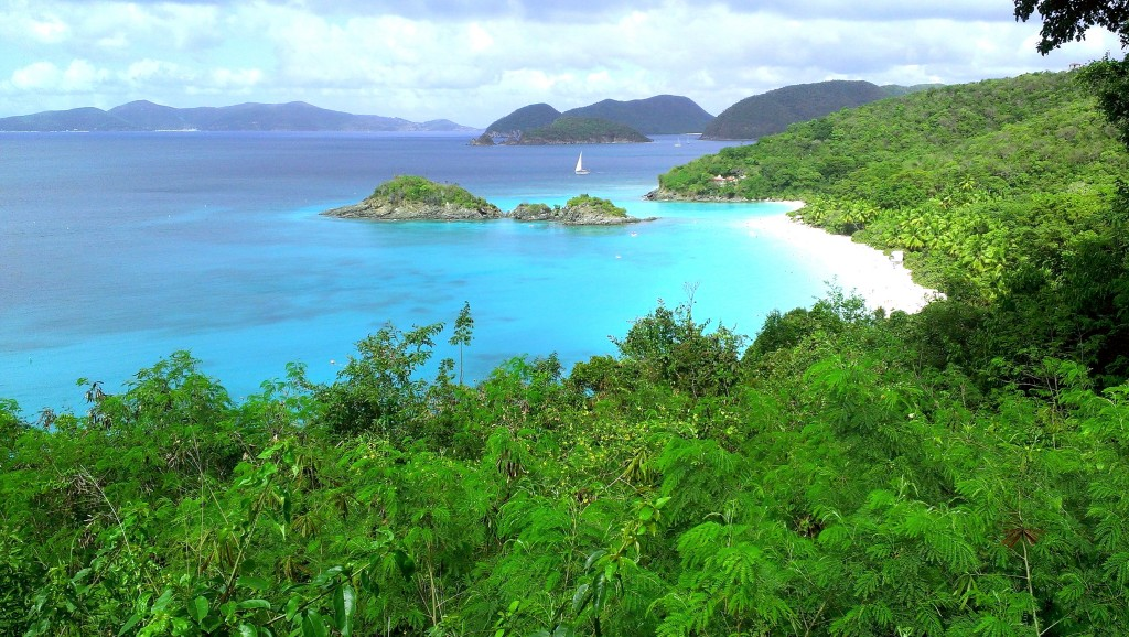 Trunk Bay at the island of St. John, U.S. Virgin Islands, Wednesday, Feb. 25, 2015. photo: Judy Corley
