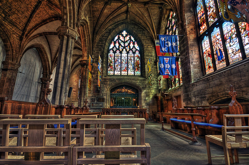 St. Giles' Cathedral in Edinburgh, Scotland. image: vgm8383